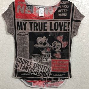 Disney parks t-shirts women size S